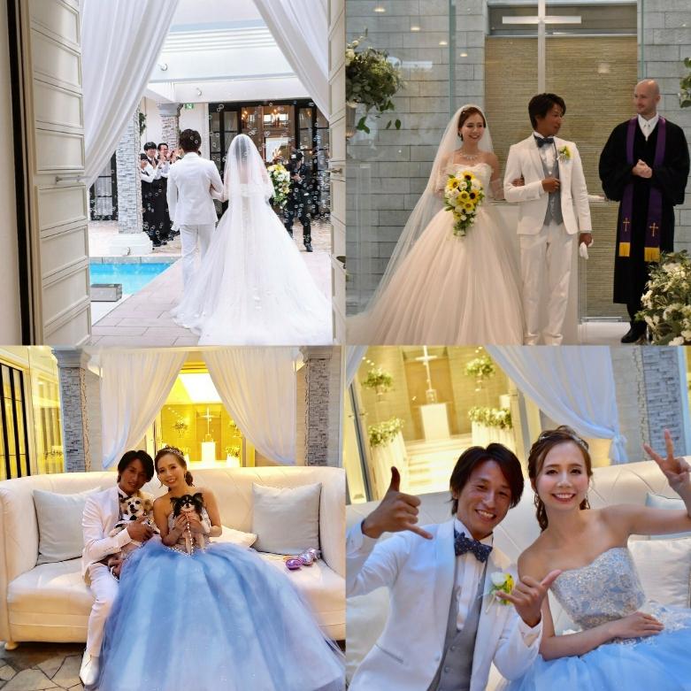 幸せの花嫁画像届きました
