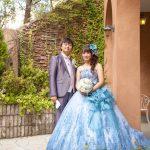 新作佐々木希コレクションのドレスと新作タキシードでお色直しされ宴で華やかな姿をご披露され大好評とのことでした。